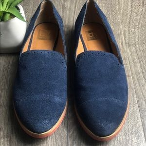 Dolce Vita Maya Loafer Navy Perforated